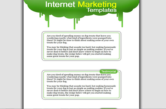 Internet Marketing HTML Template