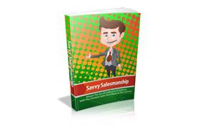 Savvy Salesmanship