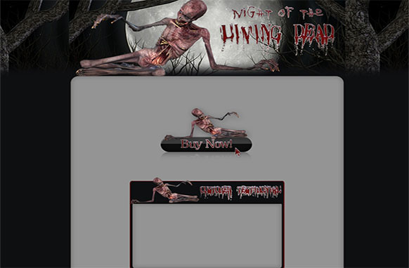 Zombies WP HTML Blogger Template