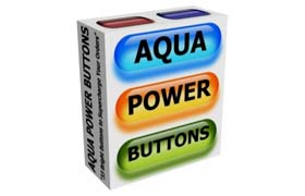 Aqua Power Buttons 1.0