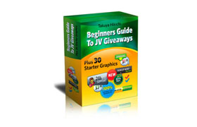 Beginners Guide To JV Giveaways