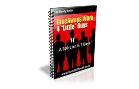 Giveaways Work 4 Little Guys Too