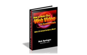 How To Make Easy Web Video TV Commercials