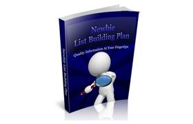 Newbie List Building Plan
