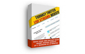 Turnkey Twitter Live Streams Website