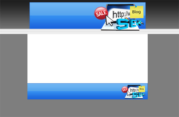 Blank New SEO Minisite HTML PSD Template