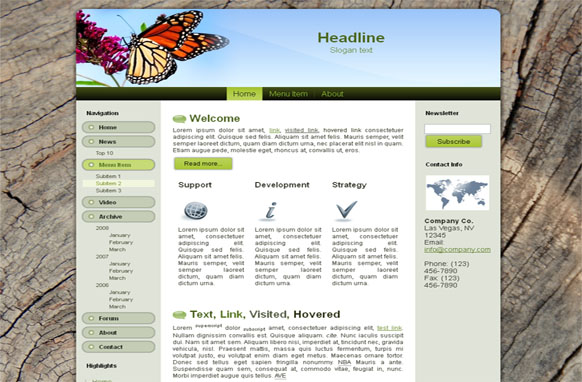 Butterfly Sales HTML Template Editon 2