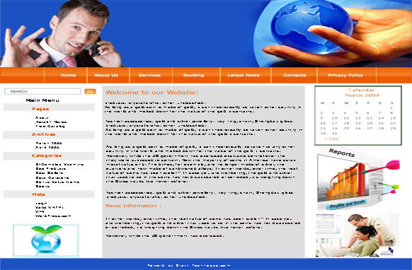 Offer Report WP Theme and PSD Template