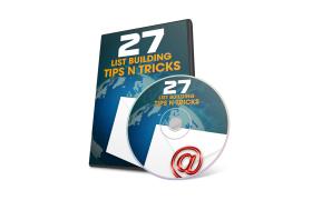 27 List Building Tips N Tricks