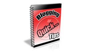 Blogging Quick Tips