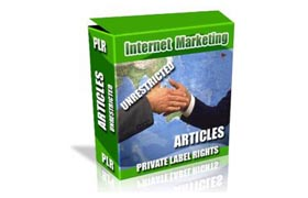 Internet Marketing Unrestricted Articles