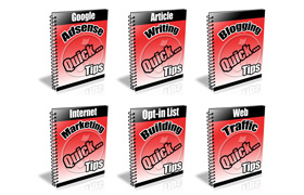 PLR 6 Pack Quick Tips Collection