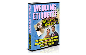 Wedding Etiquette Secrets Rrevealed