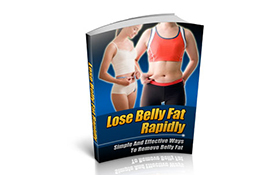 Lose Belly Fat Rapidly