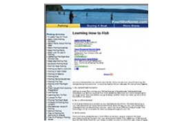 Triple Niche PHP Fishing Webite