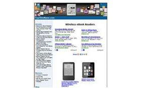 Wireless eBook Readers Website