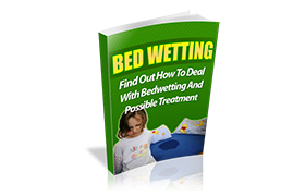 Bed Wetting WP Ebook Template