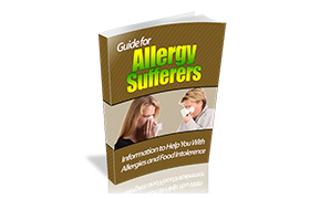 Guide For Allergy Sufferers WP Ebook Template
