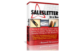 Sales Letters In A Box