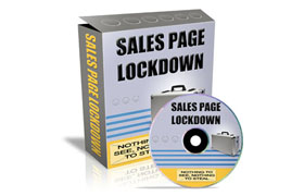 Sales Page Lockdown