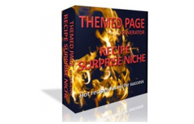 Themed Page Generator Recipe Surprise Niche