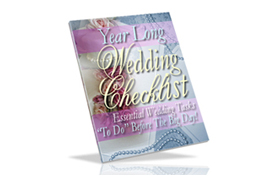 Year Long Wedding Checklist