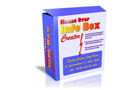 Mouse Over Info Box Creator