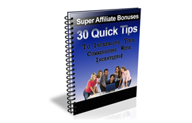 30 Quick Tips Affiliate Tips