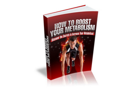 How To Boost Your Metabolism Plus Audio
