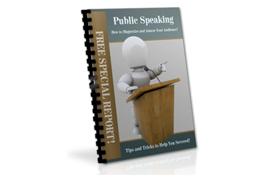 Public Speaking Report