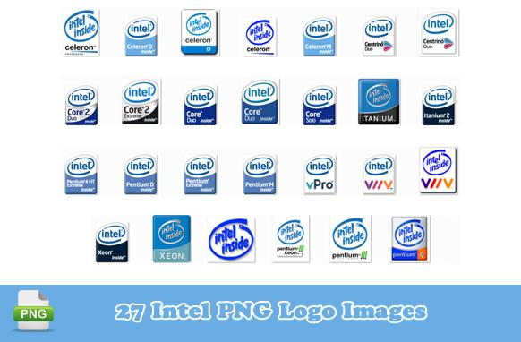 27 Intel PNG Logo Images