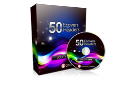 50 PSD Ecovers and Headers Volume 1