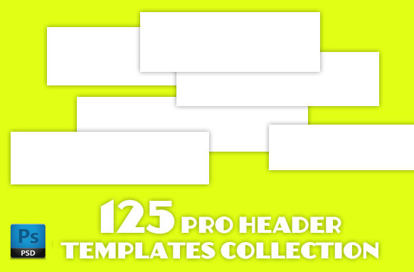 125 Pro Header Templates Collection