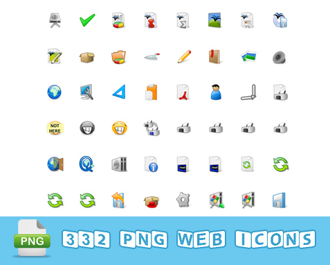332 PNG Web Icons