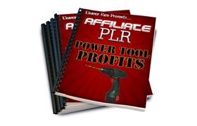 Affiliate PLR Power Tool Profits