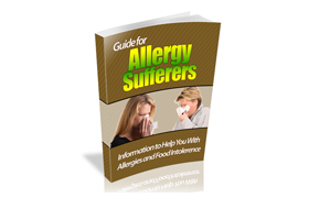 Allergy WP Ebook Website Template