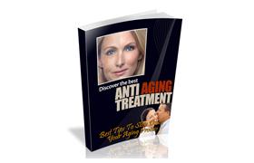Anti Aging Treatment WP Ebook Website Template