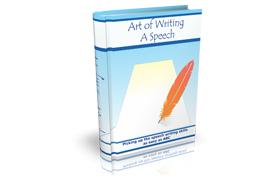 Art Of Writing a Speech