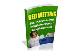 Bedwetting WP Ebook Website Template