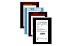 8 HTML Minisite Templates