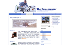 Be A Successful Entrepreneur Themes Pack