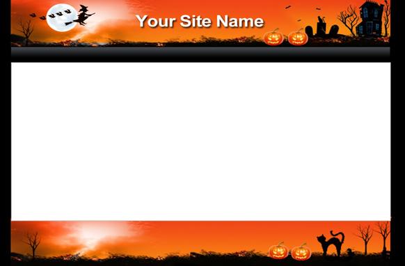 Halloween HTML PSD Minisite Template