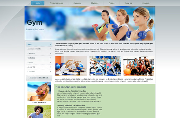 Gym Fitness WP Theme