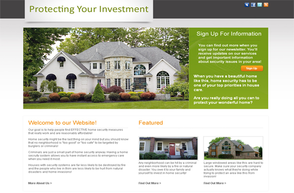 Investing HTML PSD Template