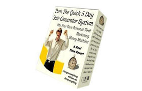 The Quick 5 Day Sale Generator System