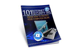 101 Internet Security Tips Poster
