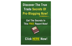 Discover The True Trade Secrets Of Pro Blogging