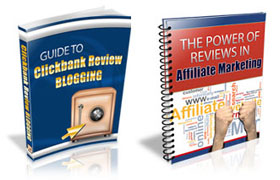 Guide To Clickbank Review Blogging Twin Pack