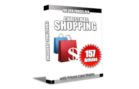 Christmas Shopping 157 PLR Articles