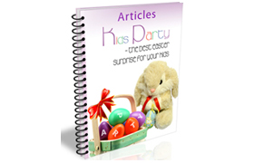 Kids Party Easter Articles